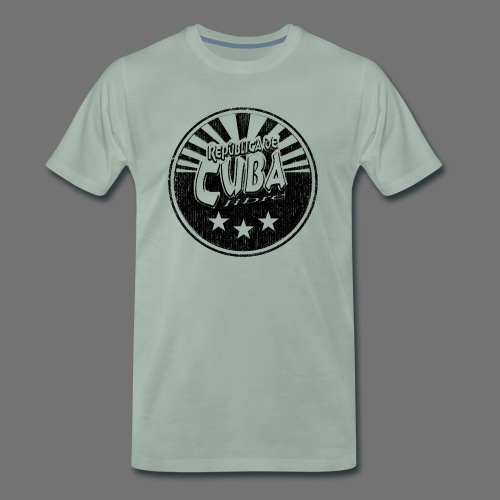 Cuba Libre (1c black) - Men's Premium T-Shirt