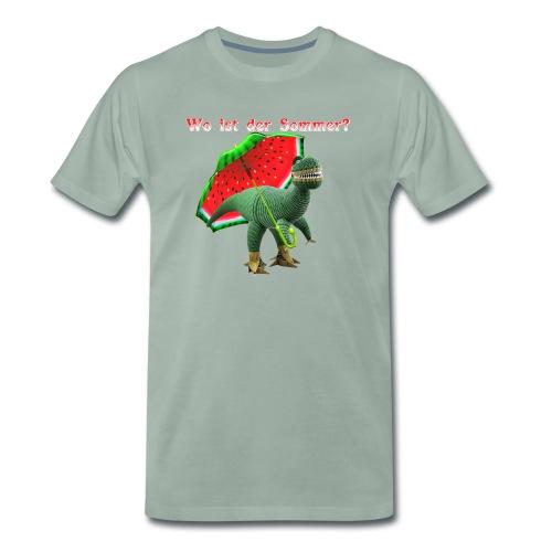 Wo ist der Sommer? - Männer Premium T-Shirt