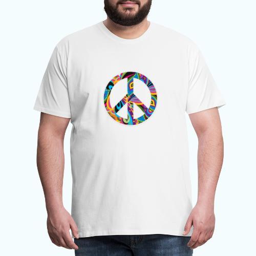 70s vintage hippie - Men's Premium T-Shirt