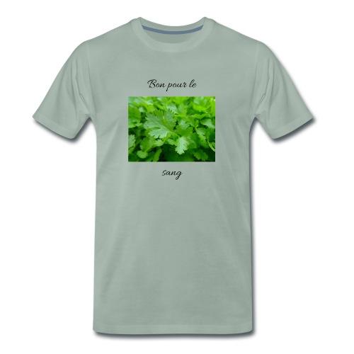 Le persil pour le sang - T-shirt Premium Homme