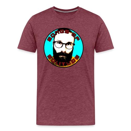 Songs of Solitude - Premium-T-shirt herr