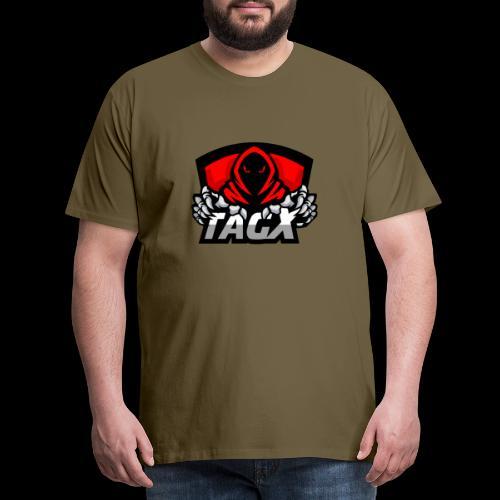TagX Logo - Miesten premium t-paita