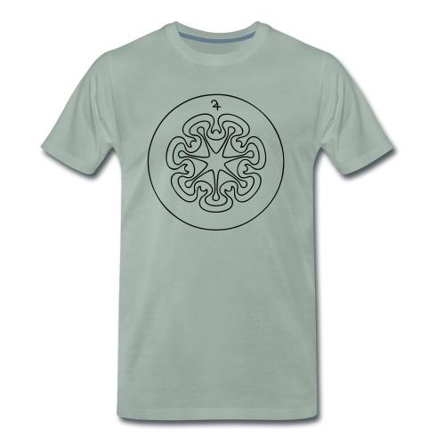 Rudis Jupiter Siegel - Männer Premium T-Shirt