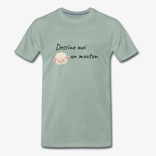 dessine moi un mouton - T-shirt Premium Homme