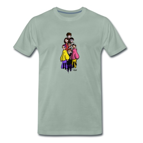 ic3eye crew - Maglietta Premium da uomo