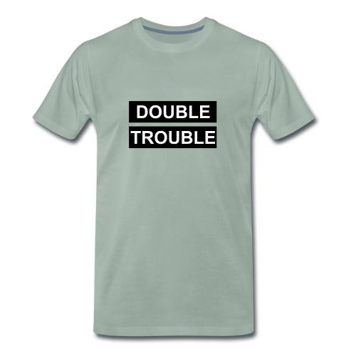 Double Trouble - Männer Premium T-Shirt
