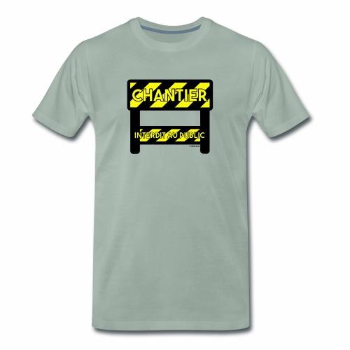 Werk in uitvoering - Mannen Premium T-shirt