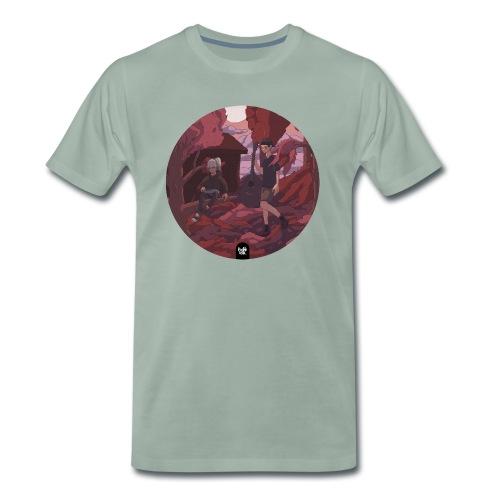Fall in Love : Lo-Hop Anthology MXIXX - Männer Premium T-Shirt