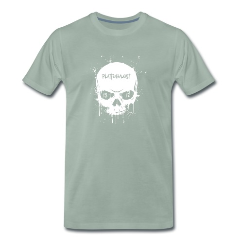 1312 Skull Eyes weiss - Männer Premium T-Shirt
