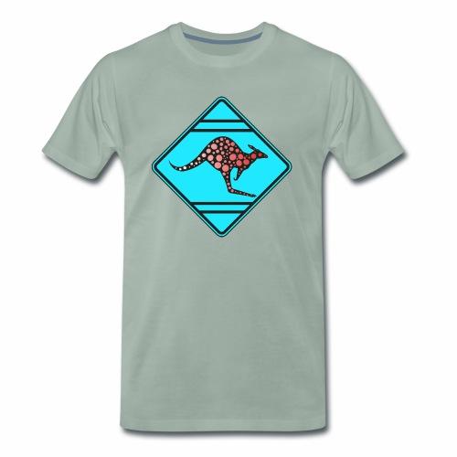 Känguru, Kangooru - Männer Premium T-Shirt