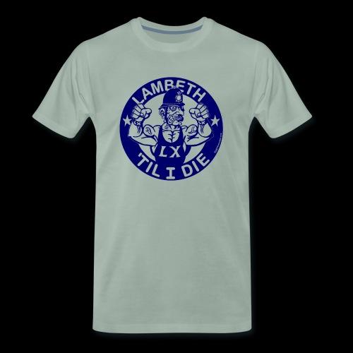 LAMBETH - NAVY BLUE - Men's Premium T-Shirt