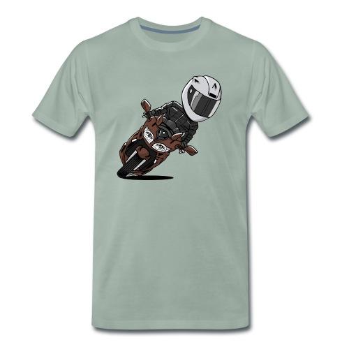 0791 FJR MagneticBronze - Mannen Premium T-shirt