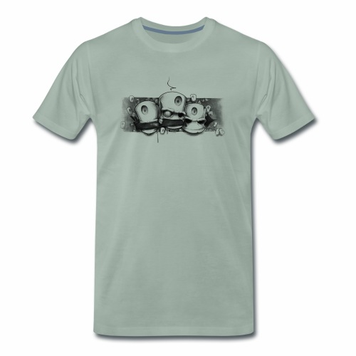 Dont ! Moe Frisco Ver01 - Herre premium T-shirt