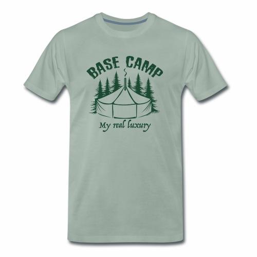 BASE CAMP - Perusleiri tekstiilit ja lahjatuotteet - Miesten premium t-paita