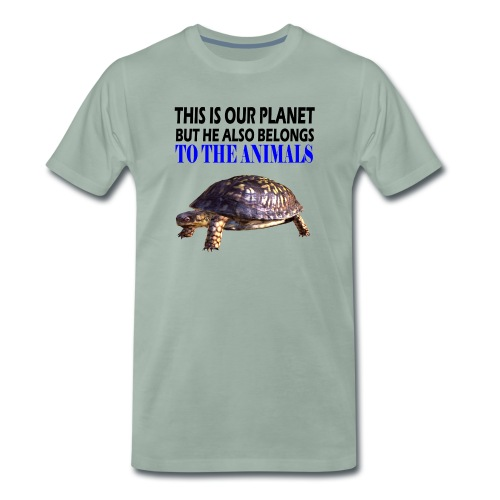 This is our Planet Schildkröte - Männer Premium T-Shirt