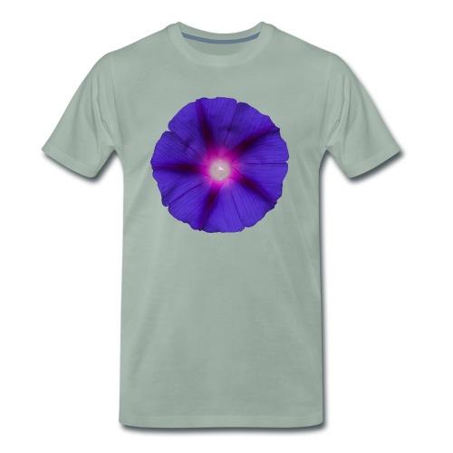 Trichterwinde Lila - Männer Premium T-Shirt