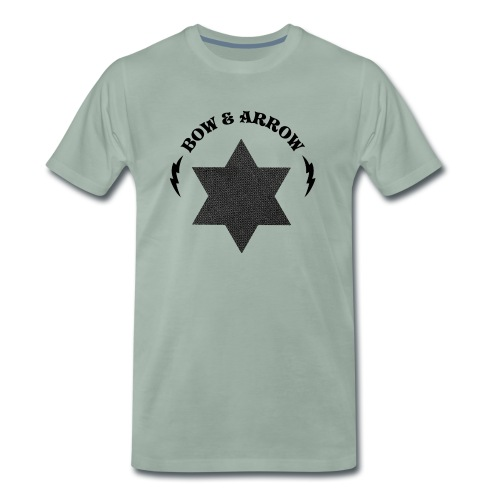 Bow & Arrow Soundsystem - Premium-T-shirt herr