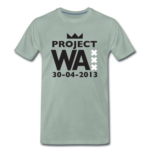 project wazw - Mannen Premium T-shirt