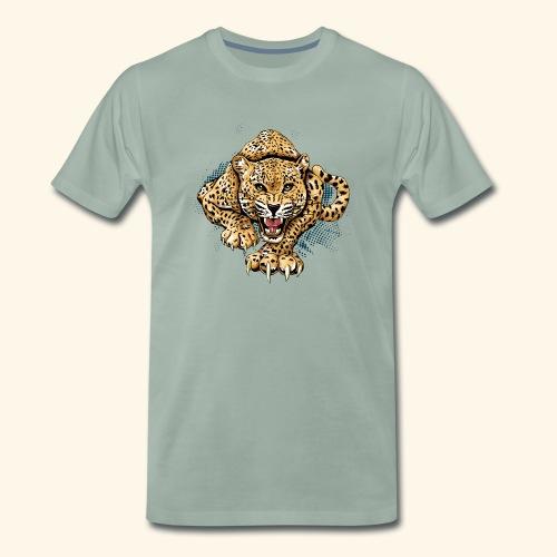 Leopardo KutuXa - Camiseta premium hombre
