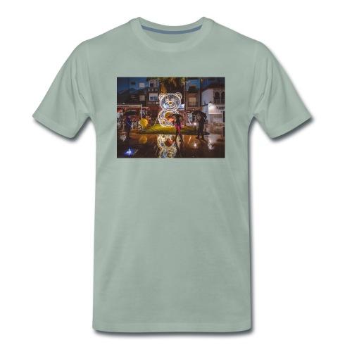 Oso navidad Estepona - Camiseta premium hombre