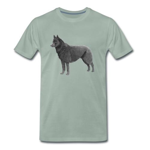 schipperke Ink - Herre premium T-shirt