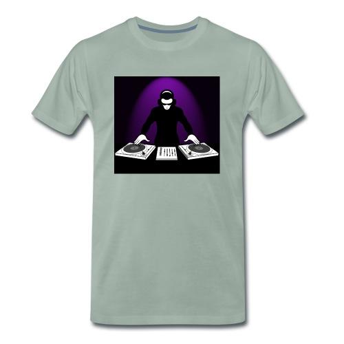 DJ Rojbin - Premium-T-shirt herr