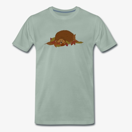 Igel - Männer Premium T-Shirt