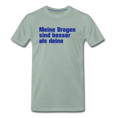 Meine Drogen - Männer Premium T-Shirt