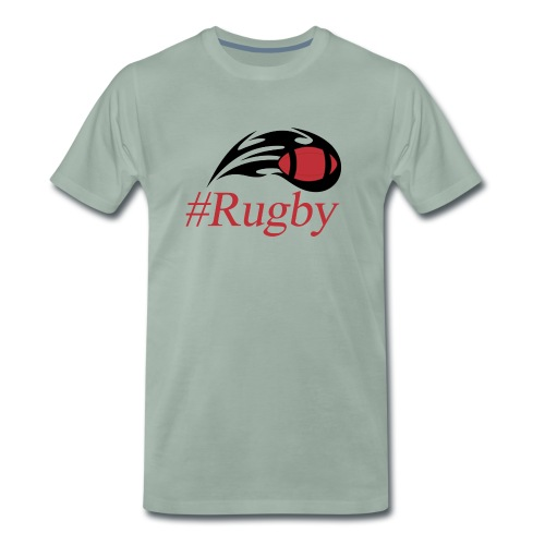 T-shirt Hashtag rugby - T-shirt Premium Homme