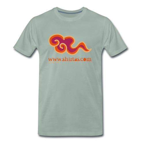 shirtas morat texte gran - Camiseta premium hombre