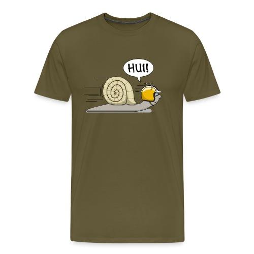 Rennschnecke - Männer Premium T-Shirt
