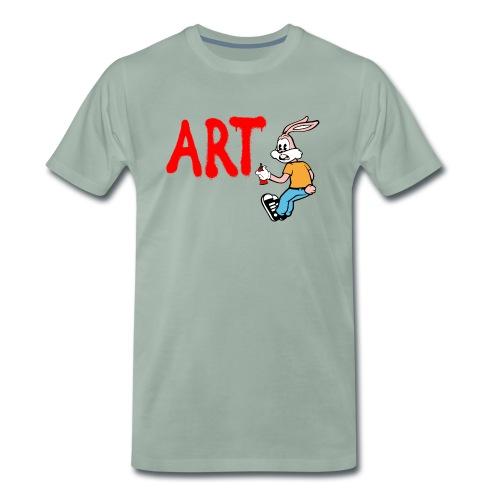 Serge Le Lapin graffeur - T-shirt Premium Homme