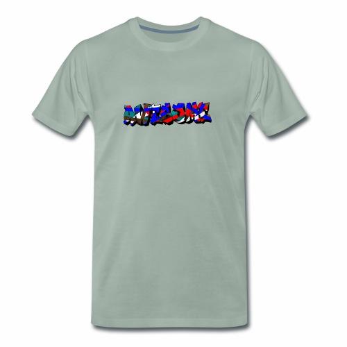 awesome street - Mannen Premium T-shirt