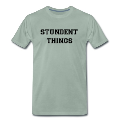studentthings png - Männer Premium T-Shirt