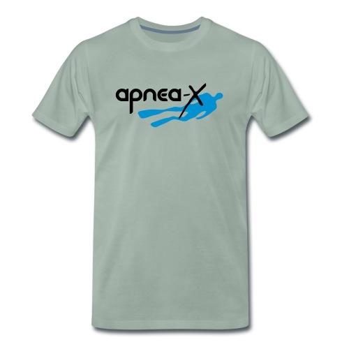 Apnea-X klein - Männer Premium T-Shirt