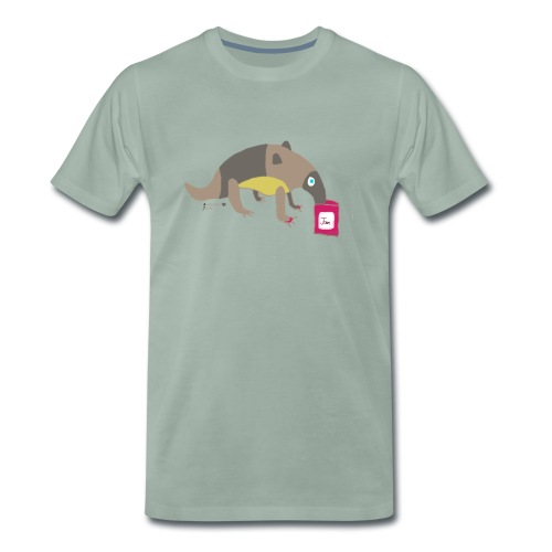 Anteater loves jam - Men's Premium T-Shirt