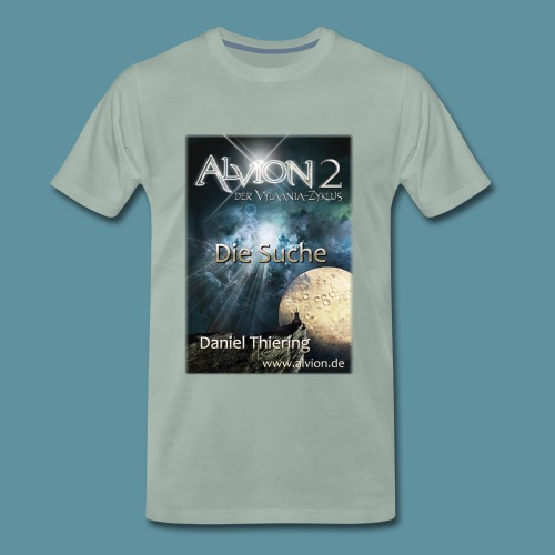 AlvionII1DieSuche2114x3000www png - Männer Premium T-Shirt