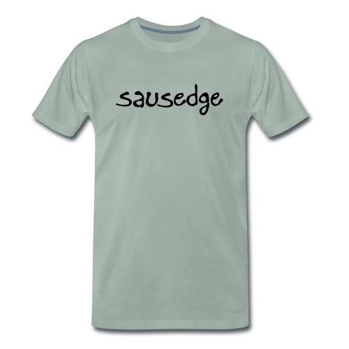 Sausedge script squad - Premium-T-shirt herr