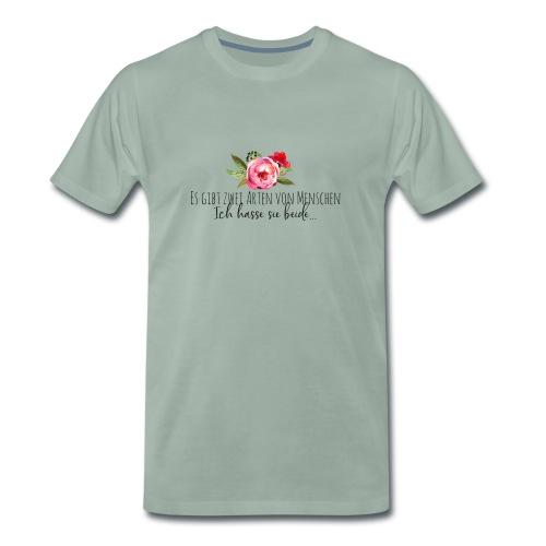 Menschliebe - Männer Premium T-Shirt