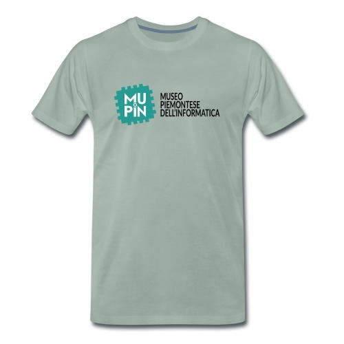 Logo Mupin con scritta - Maglietta Premium da uomo