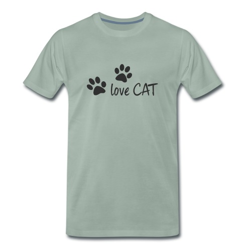 LOVE CAT - Männer Premium T-Shirt