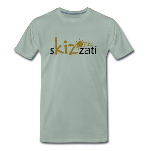 Beanie in jersey con logo sKizzati Kizomba - Verde - Maglietta Premium da uomo