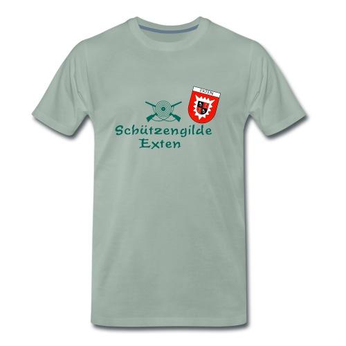 Schützengilde Exten mit Wappen - Männer Premium T-Shirt