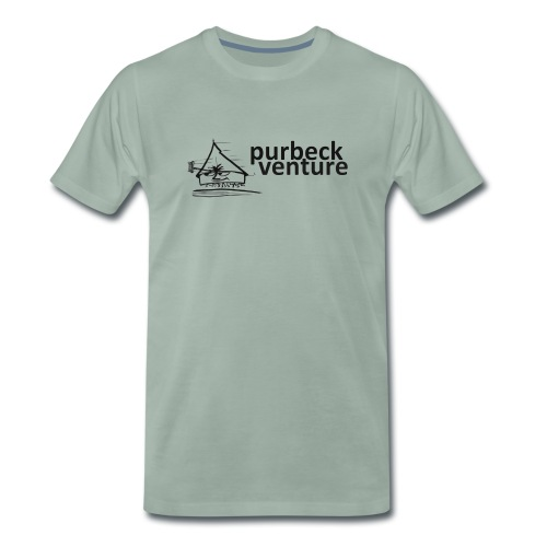 Purbeck Venture Active black - Men's Premium T-Shirt