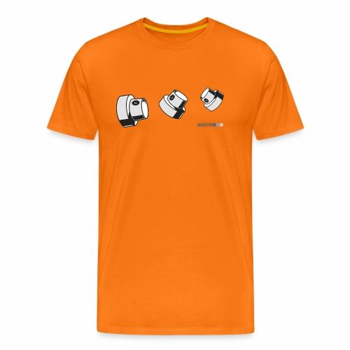 2wear caps flow ver02 - Herre premium T-shirt