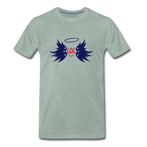 Tablier de cuisine : LOL avec aile ange - Men's Premium T-Shirt