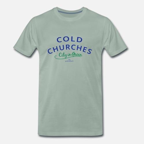 Cold Churches - Männer Premium T-Shirt