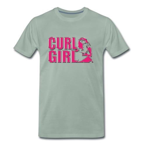CURL GIRL chorme - Männer Premium T-Shirt