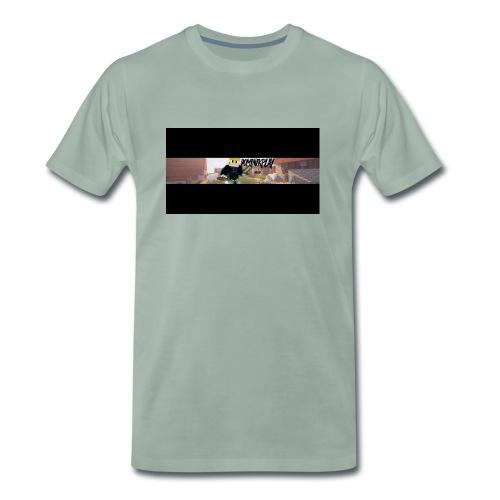 YouTube Banner DominikPlay png - Männer Premium T-Shirt