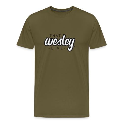 ThatWesleyLOGO 3 4 png - Mannen Premium T-shirt